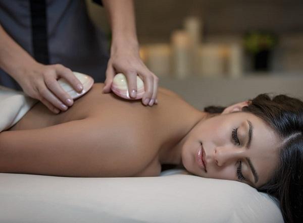 Cowrie Shell Massage