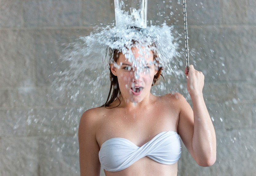 Вода в бане
