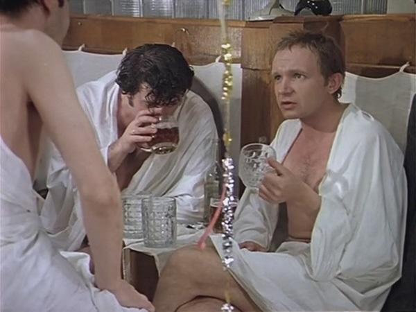 Алкоголь в бане